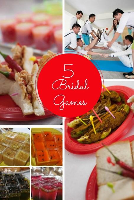 Chinese Wedding 5 Bridal Games