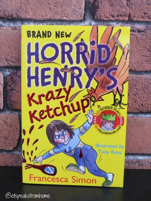 Horrid Henry S Krazy Ketchup Et Speaks From Home