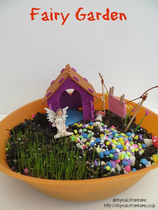 Giveaway & Review Interplay Fairy Garden - ET Speaks From Home
