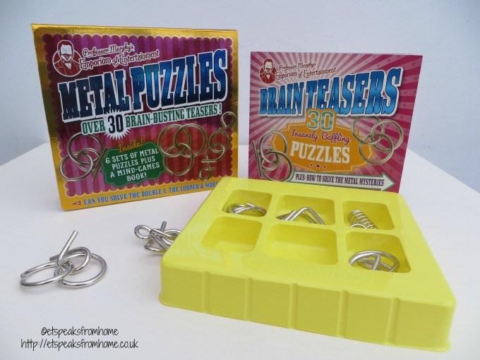 professor murphy metal puzzles