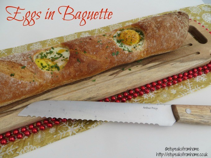 Eggs in Baguette