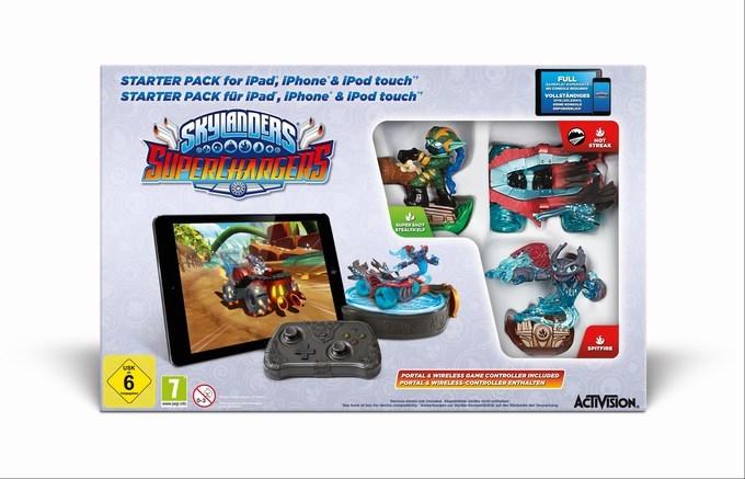 Skylanders SuperChargers iOS starter pack