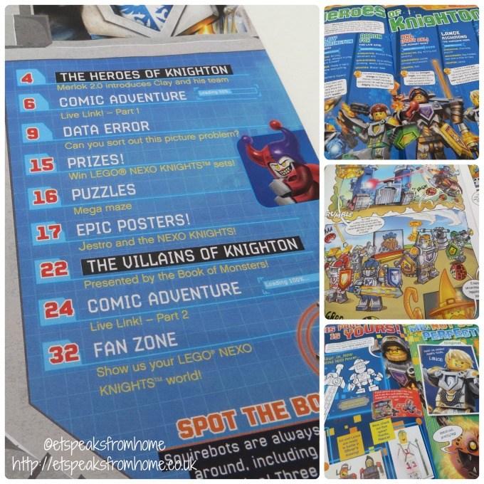 lego nexo knights magazine