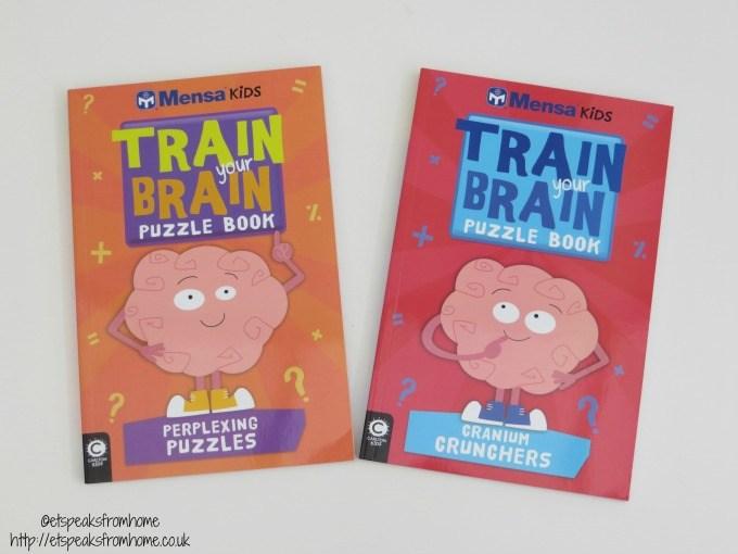 mensa kids train your brain puzzle book