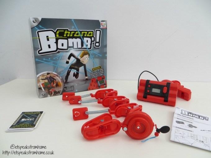 chrono bomb game instructions