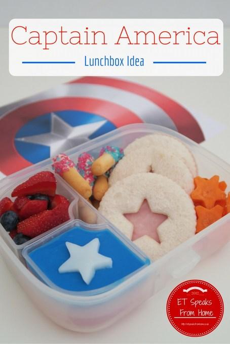 Captain America Civil War Lunchbox Idea