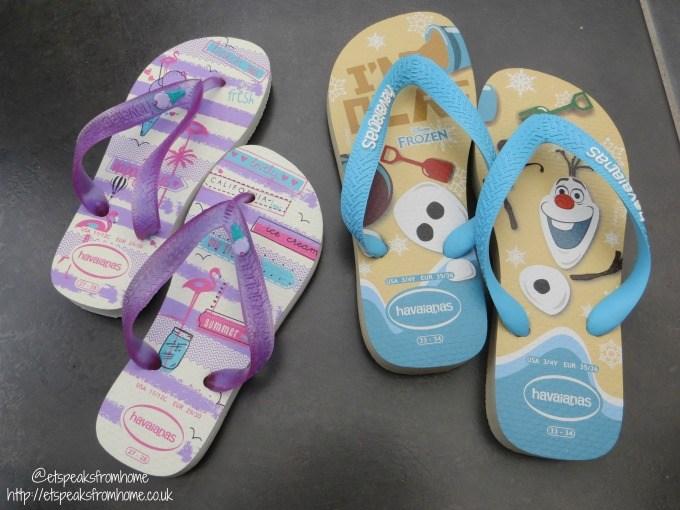 Havaianas kid summer flip flops