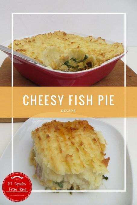 cheesy fish pie