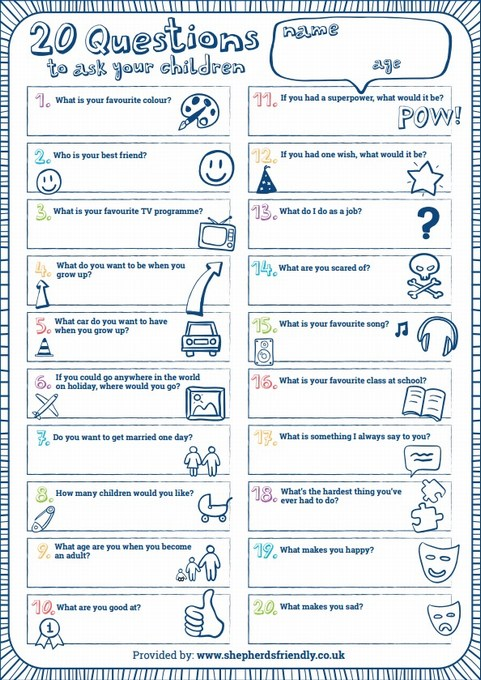21 Questions Game: Great questions = great answers