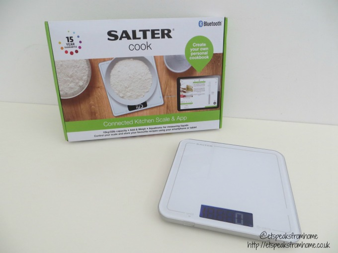 Salter connected kitchen scale app review et speaks for Kitchen scale with app