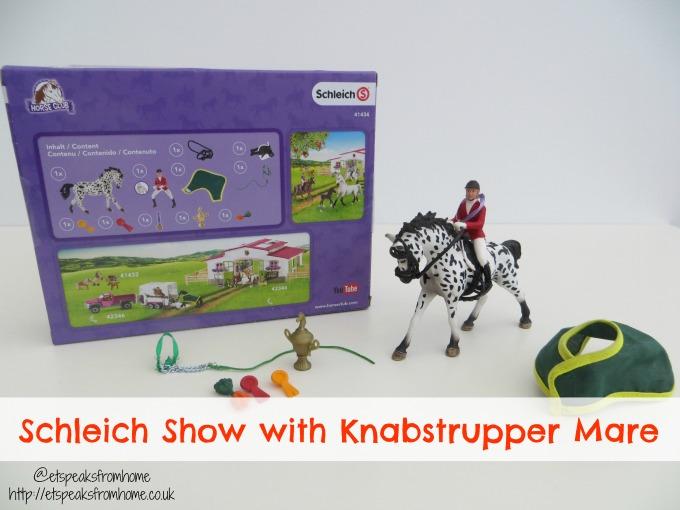 Schleich Show with Knabstrupper Mare