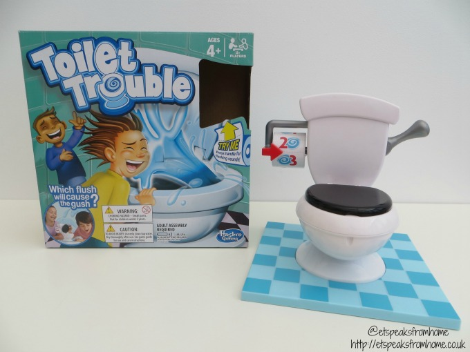 Toilet Trouble From Hasbro Review Et Speaks From Home