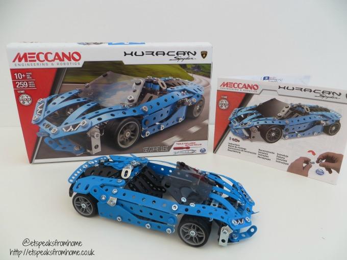 Meccano Lamborghini Huracan Spyder review