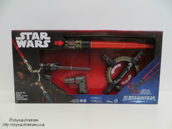 Star Wars Spin-Action Lightsaber BladeBuilders Review