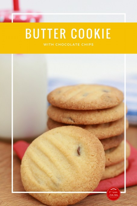 Butter chocolate chips Cookie