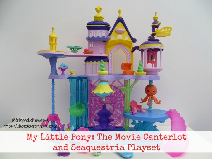 My Little Pony The Movie Canterlot and Seaquestria Playset revieq