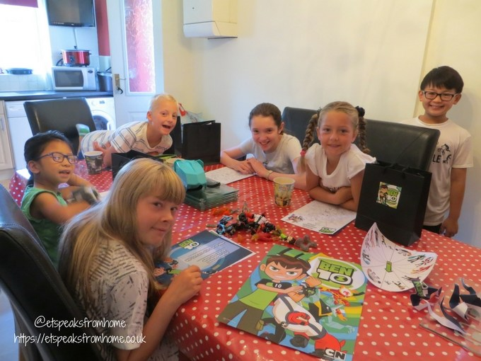 ben 10 toys twitter party