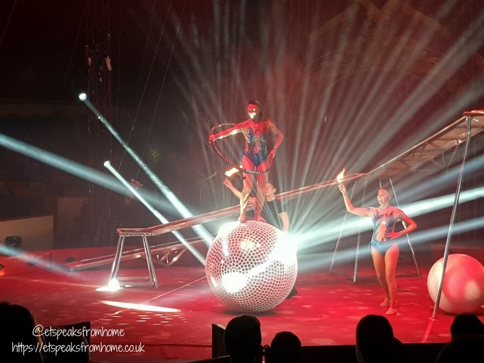 Gandey's Circus light effect