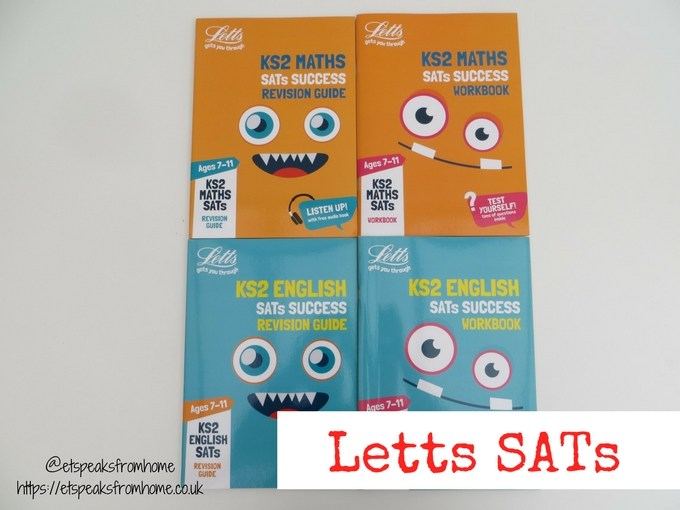 Letts SATs Key Stage 2 english math review