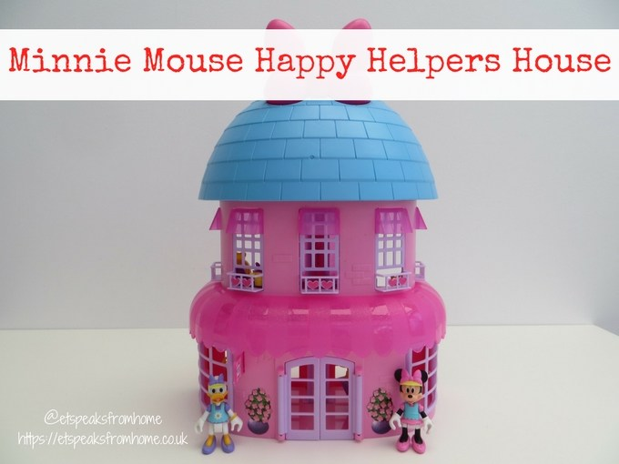 Minnie Mouse Happy Helpers House Review front