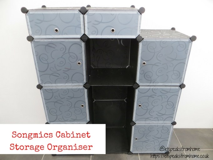 Songmics Cabinet Storage Organiser review