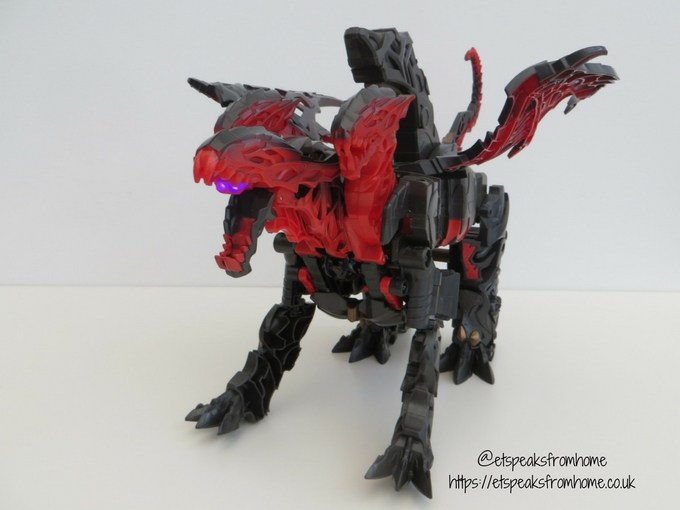 Transformers The Last Knight Mega 1-Step Turbo Changer Dragonstorm dragon