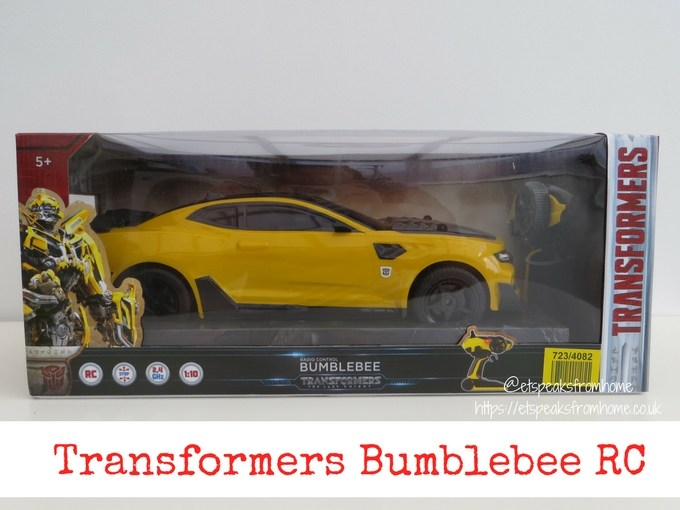 Transformers radio control bumblebee review