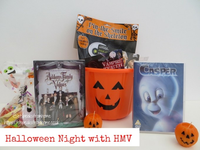 halloween Movie night IN with hmv