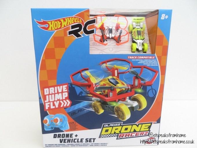 hotwheels drone racerz review