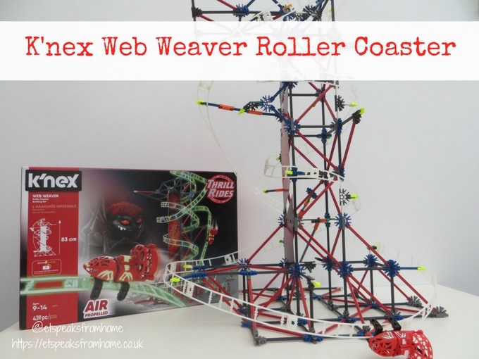 k'nex web weaver roller coaster review
