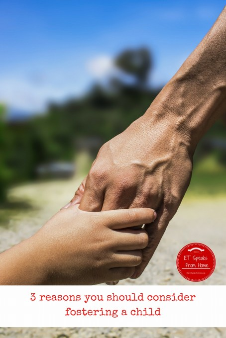 3 reasons you should consider fostering a child
