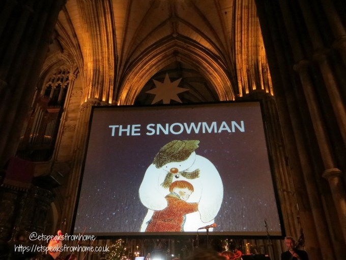 The Snowman Tour 2017 in Lichfield Cathedral