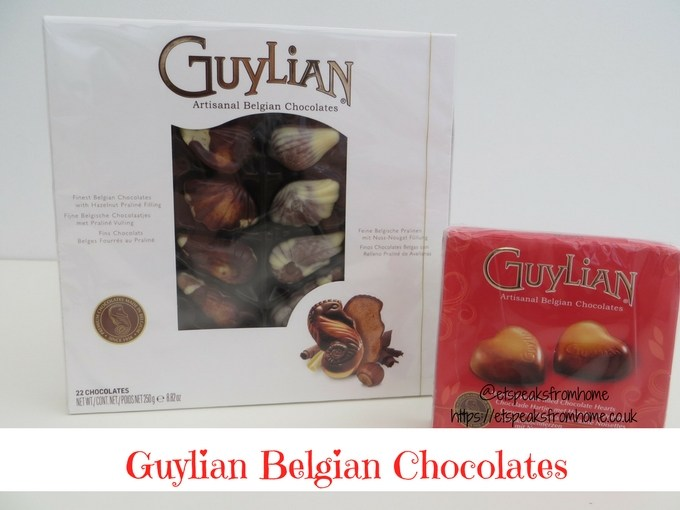 Valentine's Day with Guylian Belgian Chocolate review