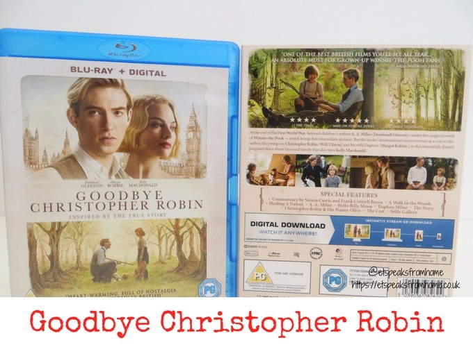 Goodbye Christopher Robin blu ray