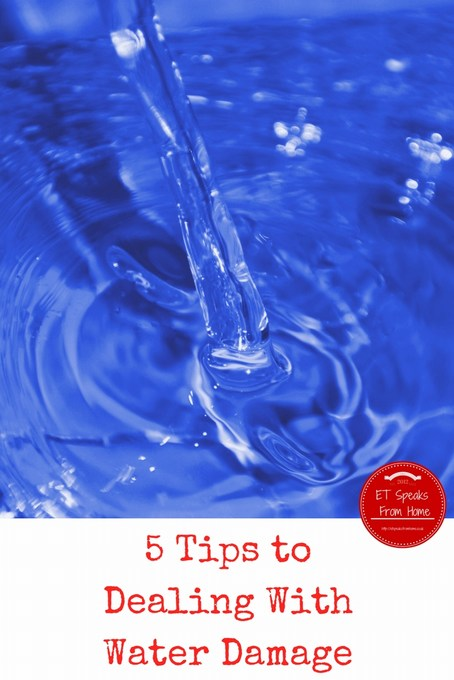 5 Tips to Dealing With Water Damage