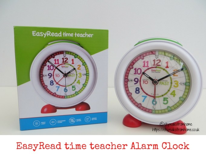 EasyRead Time Teacher alarm clock review