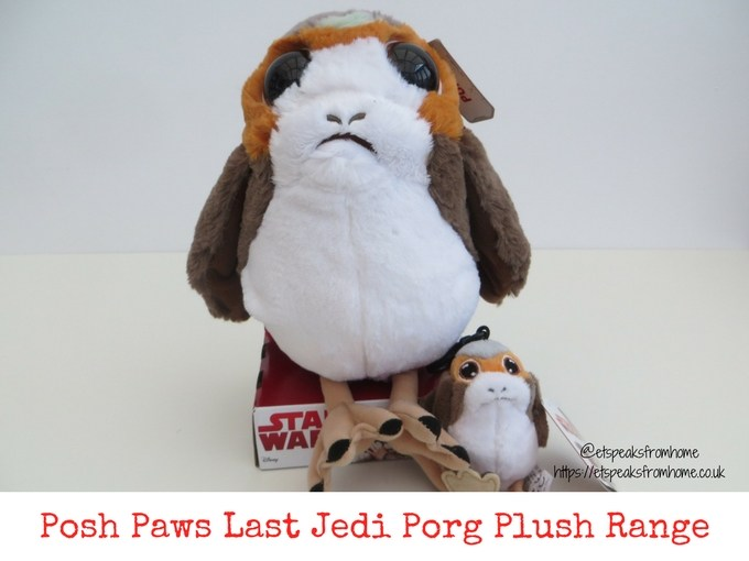 Posh Paws Last Jedi Porg Plush Range Review