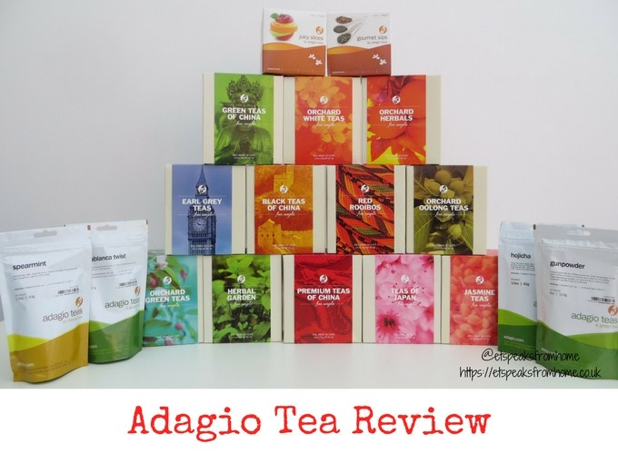 adagio teas review