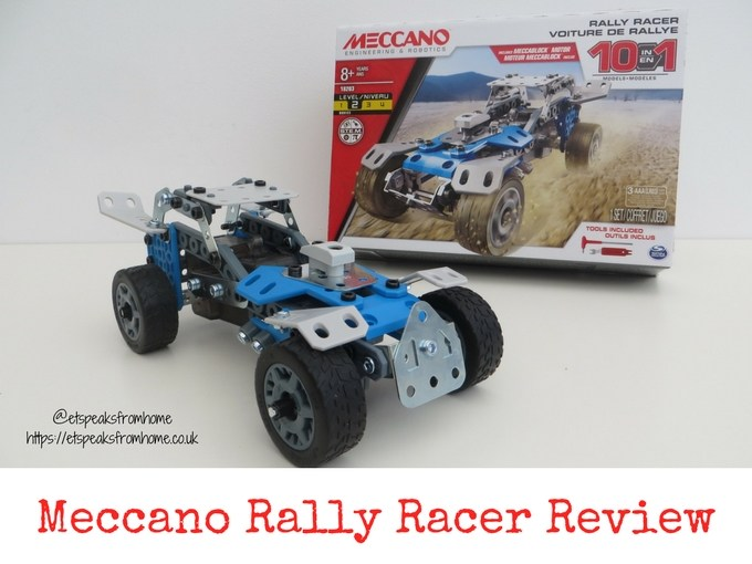 Meccano Rally Racer Set Review