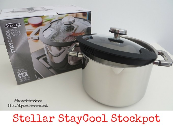 stellar stay cool stockpot 24cm