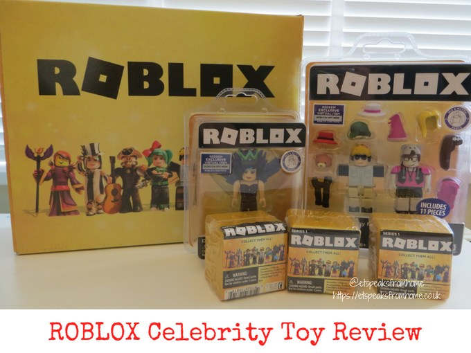 ROBLOX Celebrity Toy Review