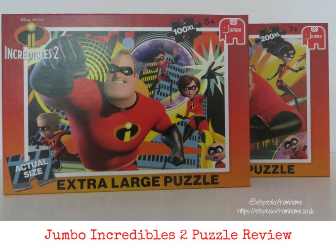 Jumbo Incredibles 2 Puzzles review