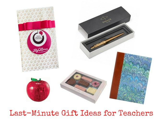 Last-Minute Gift Ideas for Teachers