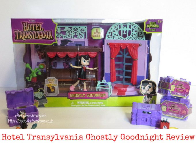 Hotel Transylvania 3 toy review ghostly goodnight playset