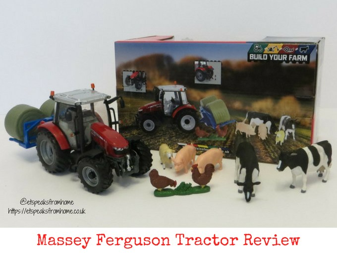Massey Ferguson Tractor Playset Review