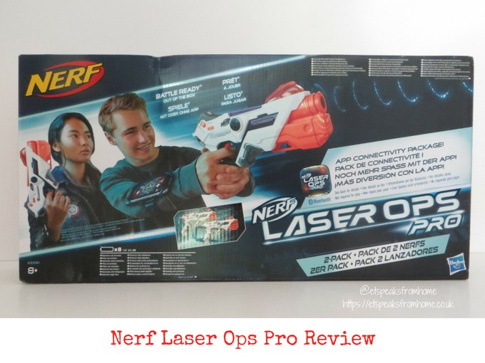 Nerf Laser Ops Pro Review