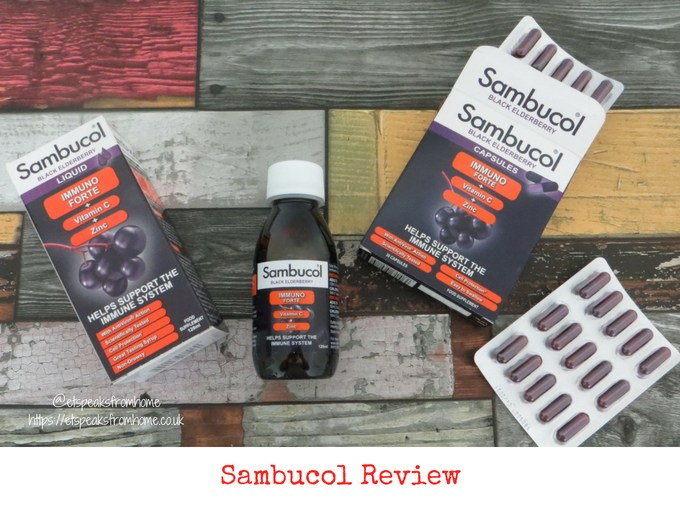 Sambucol Immuno Forte review