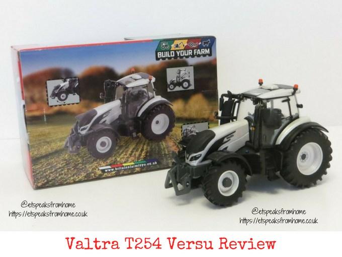 Valtra T254 Versu review