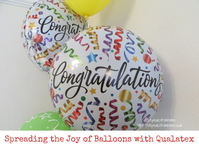 Spreading the Joy of Balloons with Qualatex Congratulations balloons