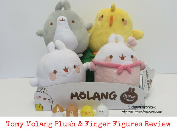 Tomy Molang Plush & Finger Figures Review